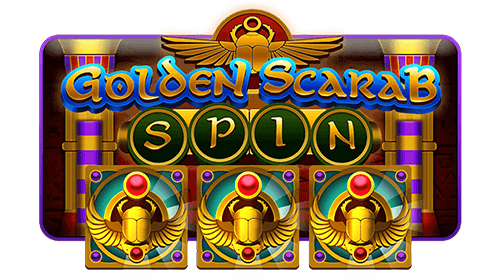 Golden scarab spin web icon deployed 01